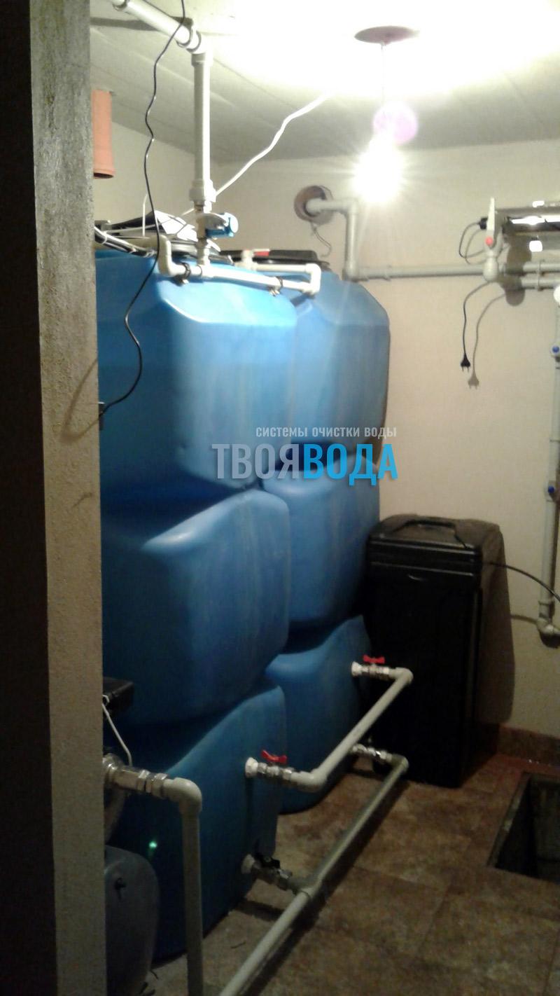Комплексная система с безнапорной аэрацией и запасом воды